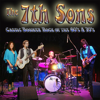 7th Sons play at Smitty's Bar New Year's Eve Party, Dec 31st 2014 from 9 to 1